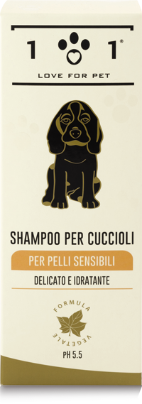 Shampoo for Puppies & Sensitive Skin 250 ml